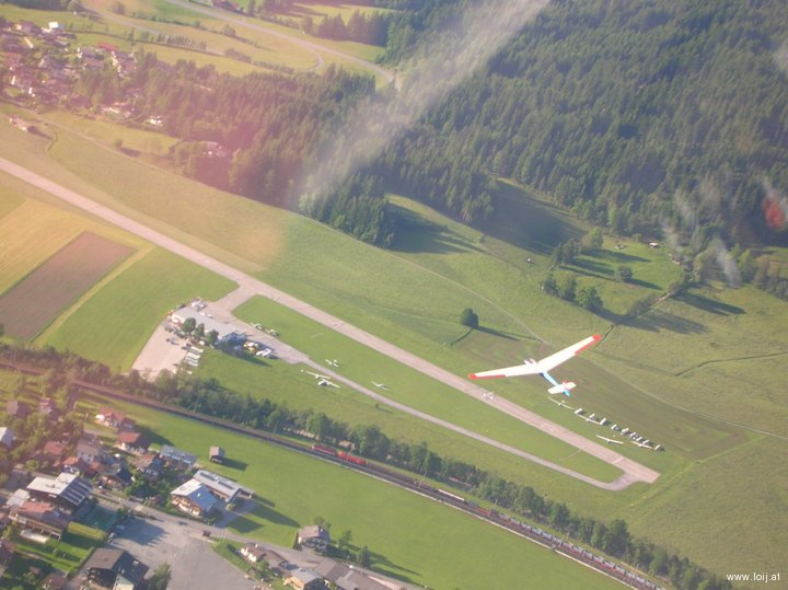 Flugplatz St.Johann in Tirol