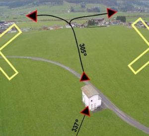 An- & Abflugverfahren am Flugplatz St.Johann in Tirol