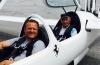 Guido schenkt ASG-32 Erstflug unserem Sepp Maier zum 90. Geburtstag