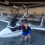 Gratulation unseren drei jungen Flugschülern ….