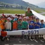 Besuch des Kindergarten St.Johann/Kirchdorf am Flugplatz