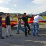 Und wieder ein neuer Pilot – Erstflug Dominik Millinger am 13.11.2014